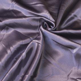 Шелк искусственный 100% полиэстер 220 см цвет лиловый фото
