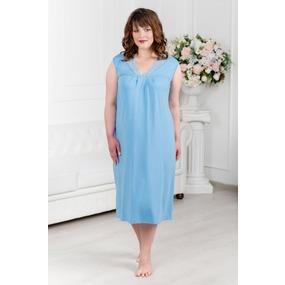 Ночная сорочка 0338-16 цвет Голубой р 50 фото