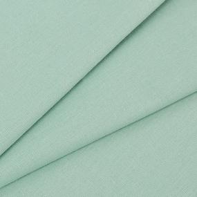 Ткань на отрез поплин гладкокрашеный 115 гр/м2 220 см цвет ментол фото