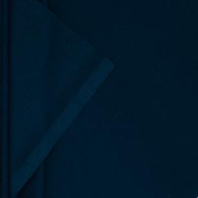 Ткань на отрез поплин гладкокрашеный 115 гр/м2 220 см цвет индиго фото