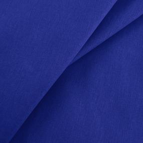 Ткань на отрез бязь гладкокрашеная 120 гр/м2 150 см цвет василек фото