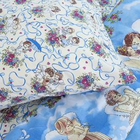 Постельное белье детское 4220/1 Маленькие ангелы 1.5 сп. фото