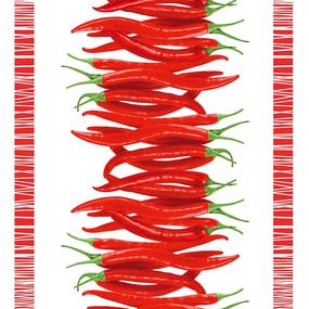 Полотно вафельное 50 см набивное арт 60 Тейково рис 5647 вид 4 Перчик фото