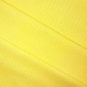Ткань на отрез полулен 150 см 70017 цвет желтый фото