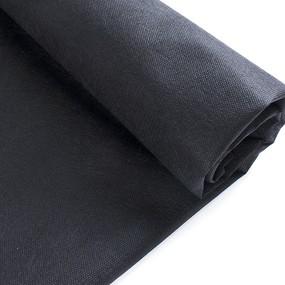 Маломеры спанбонд 55 гр/м2 160 см цвет черный 0.95 м фото