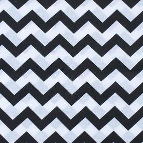 Мерный лоскут бязь плательная 150 см 1692 цвет черный 1,5 м фото