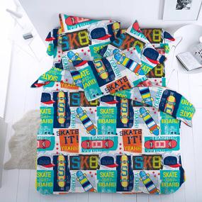 Детское постельное белье 13106/1 Скейт1.5 сп перкаль фото