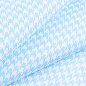Маломеры бязь плательная 150 см 1747/6 цвет голубой 10 м фото