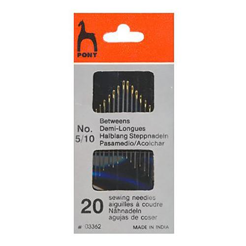 Иглы портновские грубые PONY 03362 размер 5-10 уп 20 шт фото 1