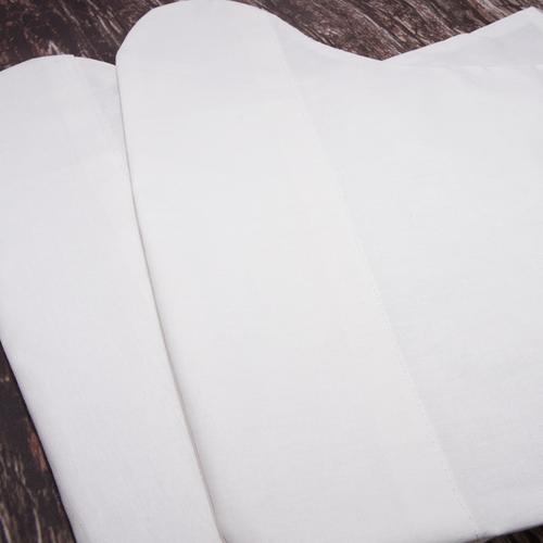 Бахилы тканевые на завязках 30/35 см фото 4