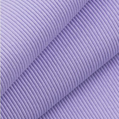 Ткань на отрез кашкорсе 3-х нитка с лайкрой 6855-1 цвет светло-лиловый фото 1