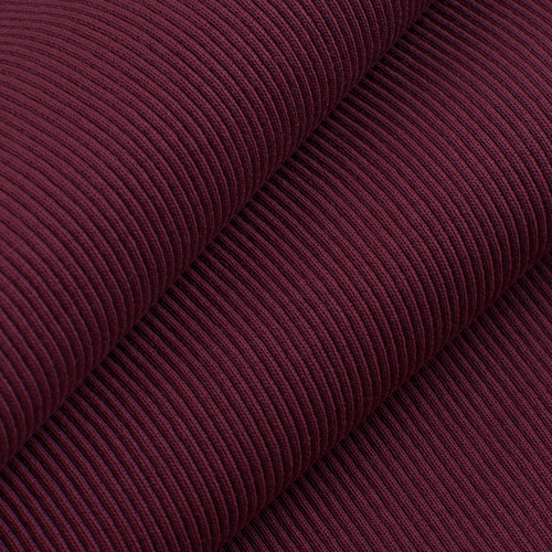 Ткань на отрез кашкорсе 3-х нитка с лайкрой цвет бордовый фото 1