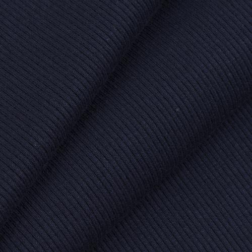 Ткань на отрез кашкорсе 3-х нитка с лайкрой цвет темно-синий фото 1