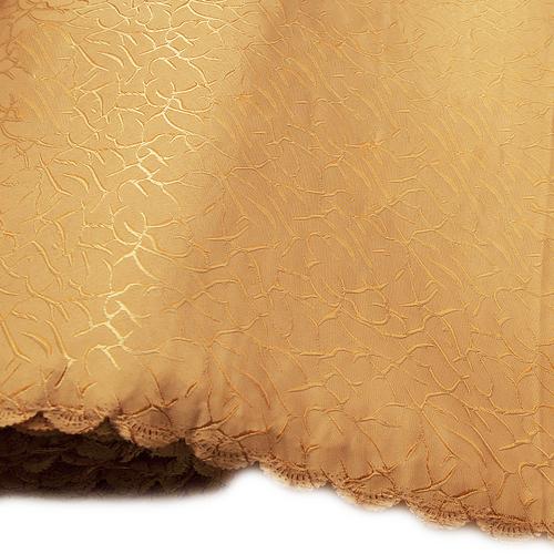 Мерный лоскут на отрез портьерная ткань Мрамор 150 см персиковый фото 1