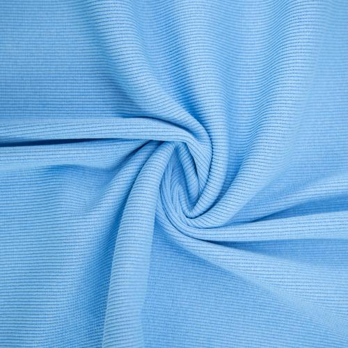 Ткань на отрез кашкорсе с лайкрой 5699-1 цвет голубой фото 3