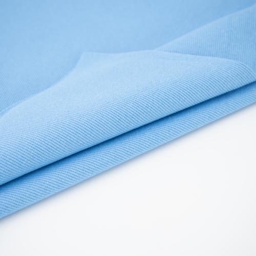 Ткань на отрез кашкорсе с лайкрой 5699-1 цвет голубой фото 5