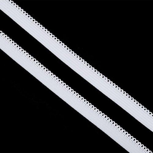 Резинка TBY бельевая 10 мм RB03101 цвет F101 белый 1 метр фото 1