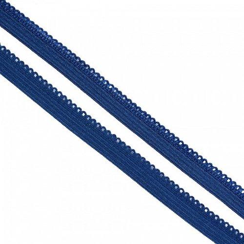Резинка TBY бельевая 10 мм RB03330 цвет F330 синий 1 метр фото 1