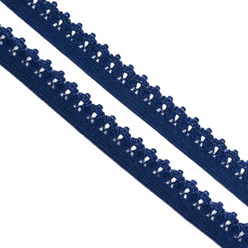Резинка TBY бельевая 12 мм RB01330 цвет F330 синий 1 метр фото 1