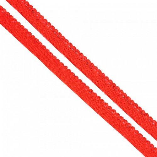 Резинка TBY бельевая 8 мм RB02162 цвет F162 красный 1 метр фото 1
