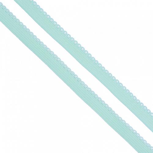 Резинка TBY бельевая 8 мм RB02199 цвет F199 мятный 1 метр фото 1