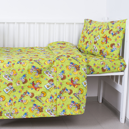 Постельное белье в детскую кроватку Непоседы 2 бязь фото 1