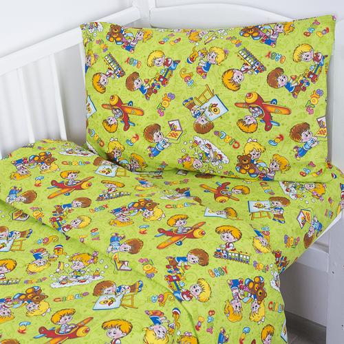 Постельное белье в детскую кроватку Непоседы 2 бязь фото 2