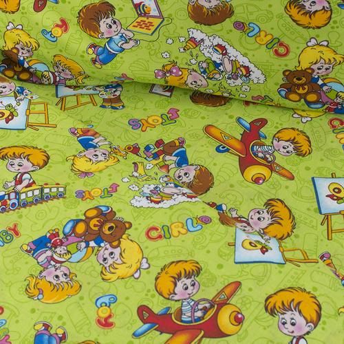 Постельное белье в детскую кроватку Непоседы 2 бязь фото 3