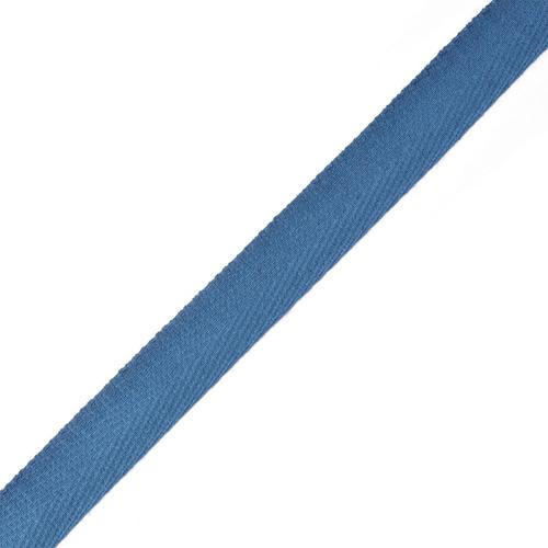 Тесьма киперная 17 мм хлопок 1,8г/см арт.12.2С-256К.17.032 цв.синий фото 1