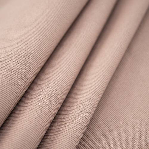 Ткань на отрез кашкорсе с лайкрой цвет светло-коричневый фото 1