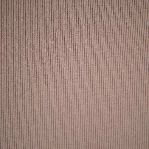 Ткань на отрез кашкорсе с лайкрой цвет светло-коричневый фото 3