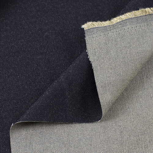 Маломеры джинса двусторонняя 320 г/м2 стрейч AT0268 цвет черный 1 м фото 4