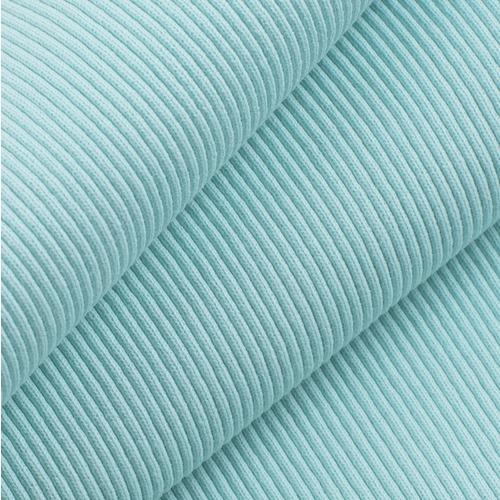 Ткань на отрез кашкорсе с лайкрой М-2068 цвет ментол фото 1