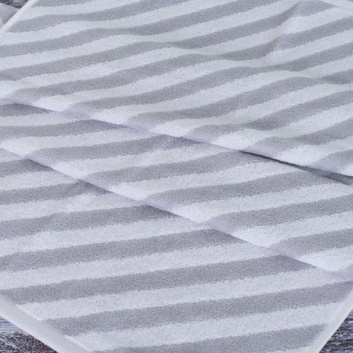 Полотенце махровое МХ-42 Круиз диагональ 50/90 см цвет серебро фото 3