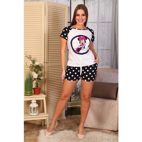 Пижама Микки Горох Э24 р 42 фото 1
