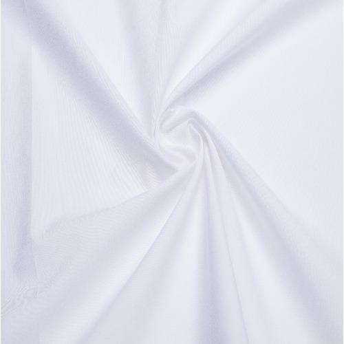 Перкаль гладкокрашеный 150 см цвет белый фото 1