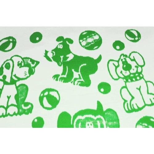 Одеяло детское байковое жаккардовое 140/100 см зеленый фото 3