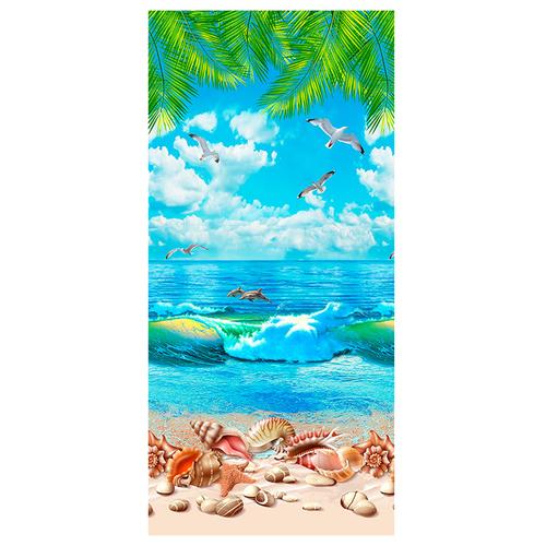 Полотенце вафельное пляжное 5478/1 150/75 см фото 1