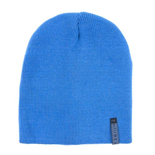 Шапка женская 2 цвет голубой фото 1