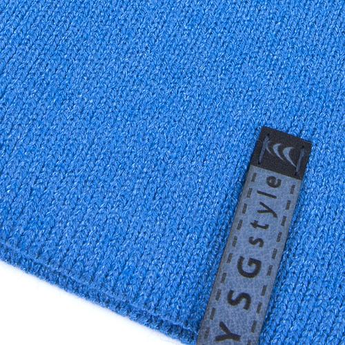 Шапка женская 2 цвет голубой фото 3