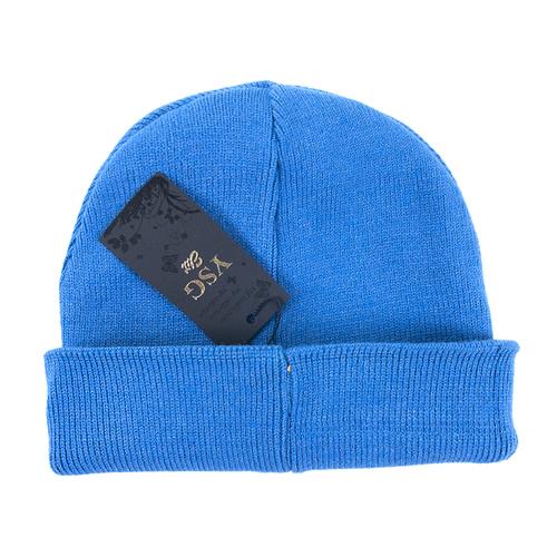 Шапка женская 2 цвет голубой фото 2