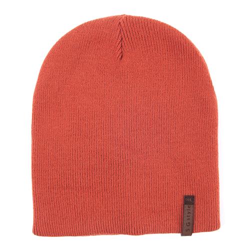 Шапка женская 2 цвет оранжевый фото 1
