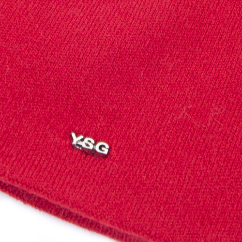 Шапка женская на флисе 4 цвет красный фото 3