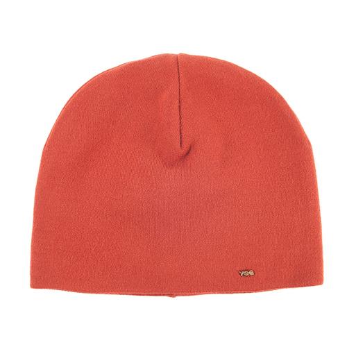 Шапка женская на подкладке 4 цвет оранжевый фото 1
