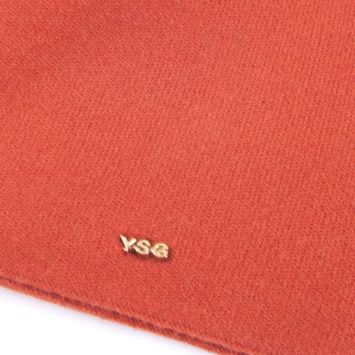 Шапка женская на подкладке 4 цвет оранжевый фото 2