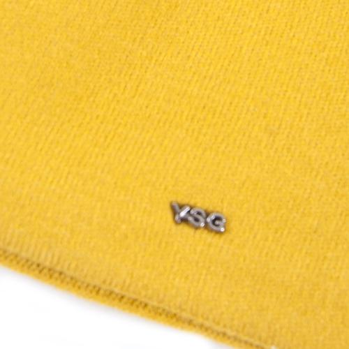 Шапка женская на подкладке 4 цвет лимон фото 2