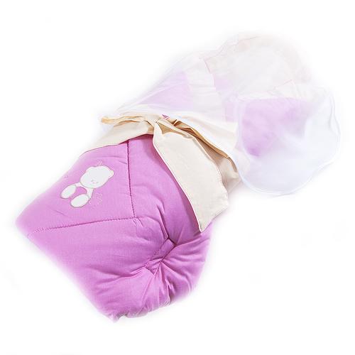 Конверт - одеяло цвет фуксия фото 3