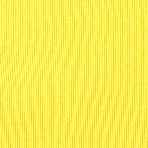Ткань на отрез кашкорсе с лайкрой 2210-1 цвет желтый 2 фото 2