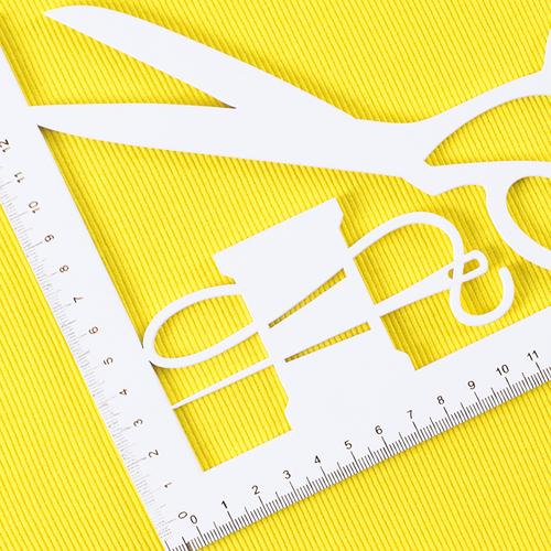Ткань на отрез кашкорсе с лайкрой 2210-1 цвет желтый 2 фото 4