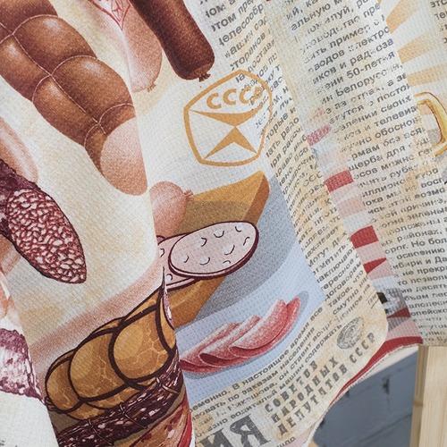 Набор вафельных полотенец 3 шт 50/60 см 30189/1 Советские деликатесы фото 2
